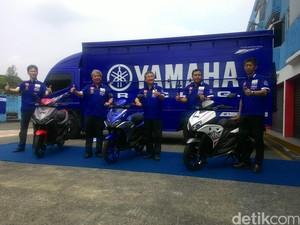 Yamaha Luncurkan Skutik Sporty Aerox, Harganya Rp 18,2 Juta