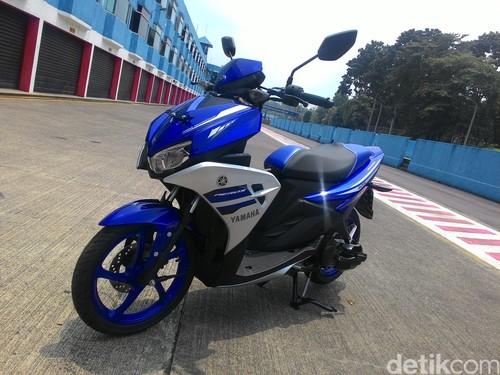 Yamaha Tegaskan, Aerox 125 LC Berbeda dengan Skutik Lain
