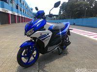 Bedah Skutik Sporty Yamaha Aerox