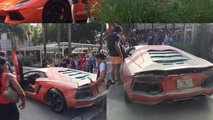 Digas Terus, Eh Lamborghini Rp 5 Miliar Malah Terbakar