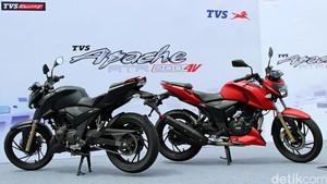 Diproduksi di Indonesia Apache RTR 200 Siap Diekspor ke Negara Asean