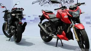 Tawarkan Motor 200 cc, TVS Bermain di Segmen yang Kosong