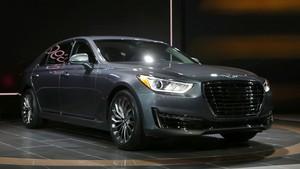 Korea Selatan Dukung Hyundai Genesis Dijadikan Mobil Otonom
