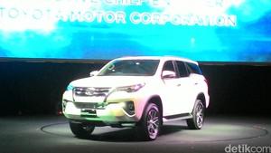 Diproduksi di Indonesia, Toyota Fortuner Diterima Pasar Global