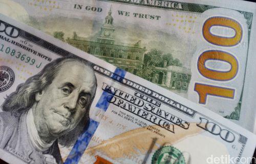 Dolar AS Turun ke Rp 13.170