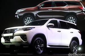 Toyota Resmi Luncurkan All New Fortuner