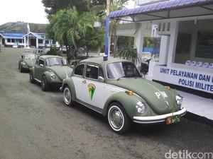 Kinclongnya VW Kodok Milik TNI