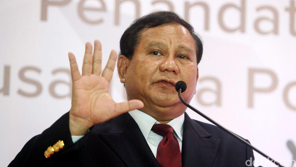 KMP Tamat, Prabowo : Pendekar Tidak Takut Berjalan Sendiri!