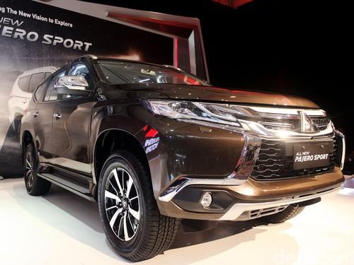 Mitsubishi Luncurkan Pajero Sport di Kota Apel