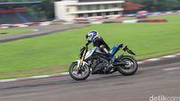 Yamaha Xabre Juaranya Manuver!