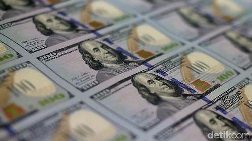 Dolar AS Melemah ke Rp 13.421