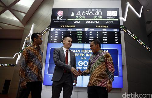 Bursa Asia Hijau, IHSG Dibuka Naik ke 4.848