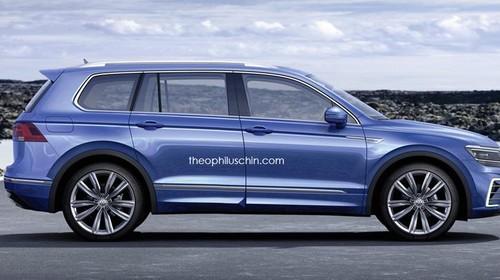 VW Tiguan Punya Kapasitas 7 Penumpang?