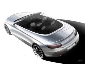 Mercedes-Benz Bocorkan Tampilan C-Class Cabrio Anyar