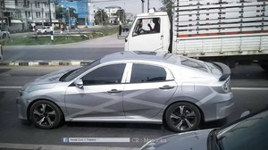 New Honda Civic Tertangkap Kamera di Thailand