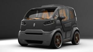Ini Dia Rancangan City Car Pintar Karya Desainer Rusia