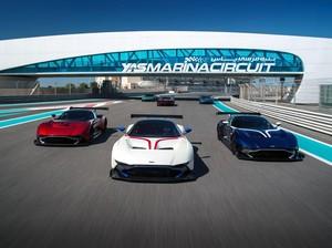 Bayar Rp 30 Miliar, Bisa Jajal Sirkuit F1 Pakai Aston Martin Vulcan