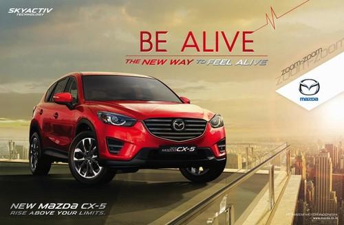 Mencapai Kepuasan Mengendarai SUV di New Mazda CX-5