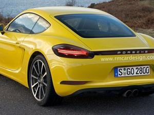 Inikah Tampilan Porsche 718 Cayman?