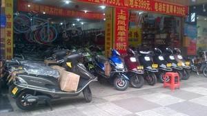 Motor Listrik, Kendaraan Roda Dua Terfavorit di Guangzhou