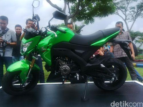 Motor Sport Mini Kawasaki Z125 Pro Meluncur di Indonesia
