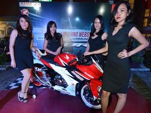 Pasar Motor Sport 250 cc di Mata Honda