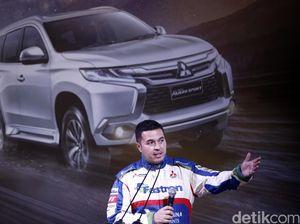 Ketangguhan Mesin All New Pajero Sport di Mata Rifat Sungkar