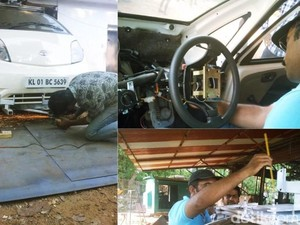 Pria India Buat Mobil Otonom dari Mobil Termurah Sejagat