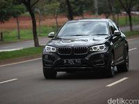 Mencicipi Suguhan Kenyamanan dan Ketangguhan BMW X6