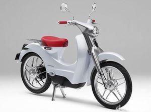 Motor Listrik Bergaya Klasik, Honda EV-Cub Sapa Bangkok