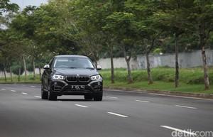 Mencicipi Kenyamanan BMW X6