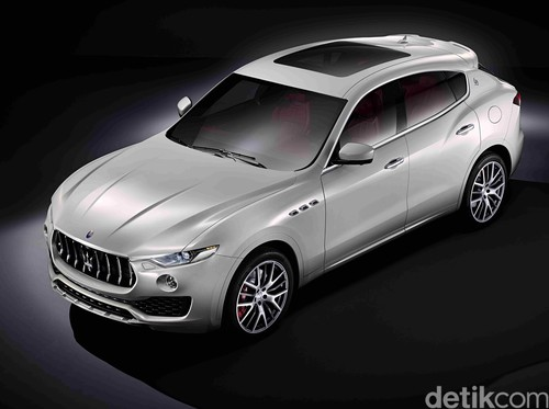 SUV Maserati Levante Bakal Punya Sistem Kemudi Semi Otonom