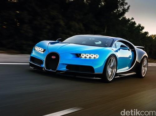 Konsumen Bugatti New Chiron Bisa Pilih Warna Sendiri