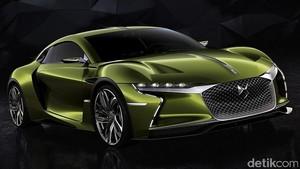 Mobil Listrik DS E-Tense Concept Akhirnya Unjuk Gigi