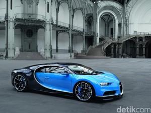 Bugatti Pertimbangkan Chiron Hybrid