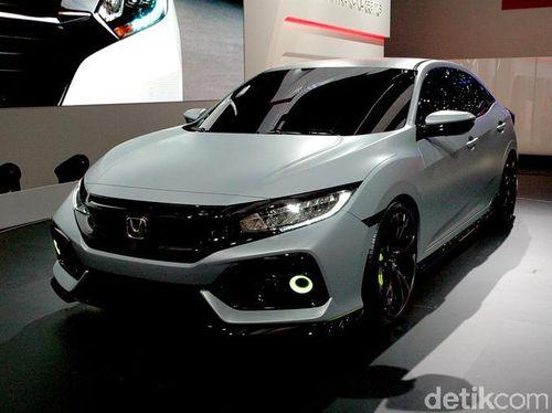 Begini Bentuk Honda Civic Versi Hatchback