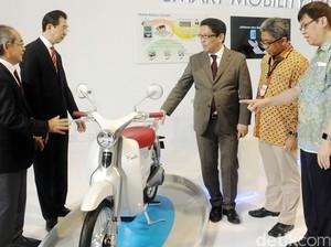 Honda Siapkan Motor Listrik Pesaing Gesits