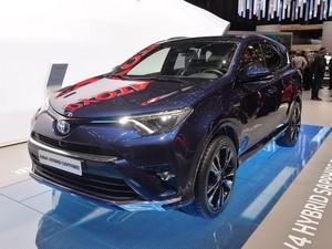 Toyota Perlihatkan RAV4 Hybrid Sapphire di Eropa