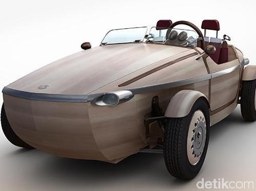 Mobil dari Kayu Toyota Setsuna