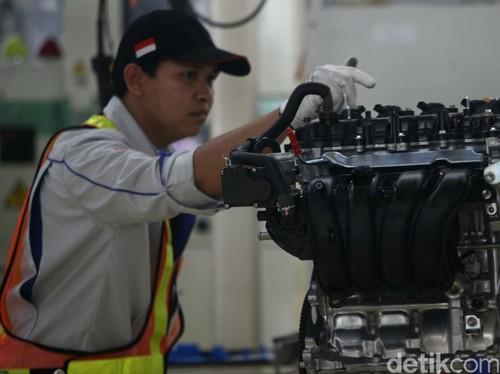 Diproduksi di RI, Kandungan Lokal Mesin Anyar Toyota R-NR Belum 100%