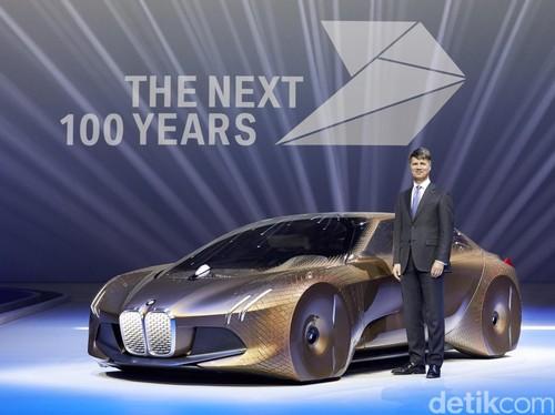 Rayakan Ultah Ke-100, BMW Rilis Konsep Mobil Masa Depan