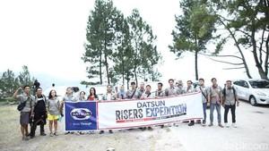 Hari Pertama Etape Kedua, Risers Kunjungi Sipiso Piso