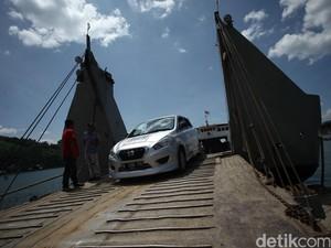 Datsun Risers Tinggalkan Danau Toba