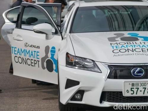 Toyota Tambah Anggota Tim Pengembangan Mobil Otonom