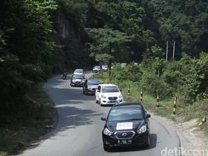 Tempuh 700 Km, Datsun Risers Tuntaskan Etape Kedua