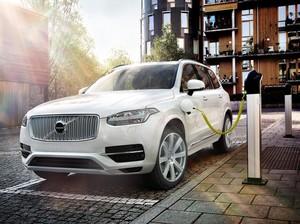Volvo Targetkan Jual Sejuta Mobil Listrik pada 2025