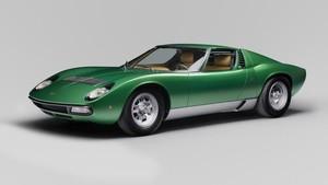 Rayakan 50 Tahun, Lamborghini Modifikasi Miura SV