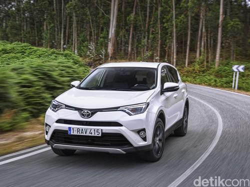 Setelah Camry, Toyota Produksi RAV4 di Rusia