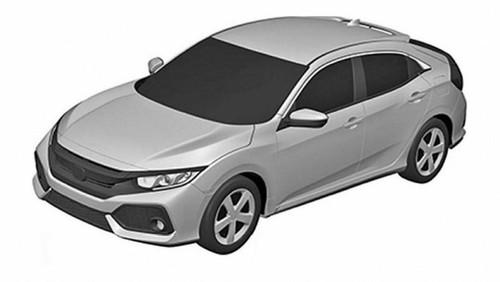 Paten Ini Dipercaya Sebagai Honda Civic Hatchback Versi Produksi