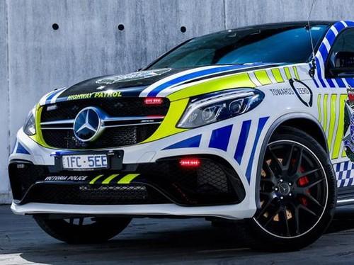 Mercedes-AMG GLE63 S Coupe Jadi Patroli Polisi Australia